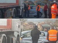 Atena Lucana: scontro tra un'auto e un camion. Ferito 70enne di Teggiano