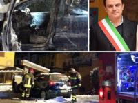 Atto intimidatorio ai danni del sindaco di Corleto Perticara. Auto bruciata davanti casa