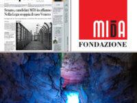 """Le Grotte di Pertosa-Auletta e la Fondazione MIdA sulle pagine del quotidiano """"la Repubblica"""""""