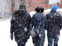 Maltempo in Campania, allerta meteo della Protezione Civile regionale. Previste nevicate a bassa quota