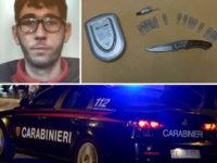 In auto con eroina e hashish, tenta la fuga dopo l'alt dei Carabinieri. Arrestato 40enne di Palomonte