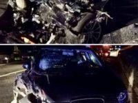 Grave scontro tra due auto sul Raccordo Sicignano-Potenza a Tito Scalo. Tre feriti, tra cui un bambino
