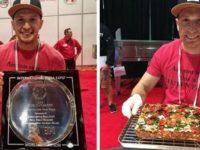 Antonio Langone, originario di Atena Lucana, è il campione mondiale di pizza senza glutine a Las Vegas