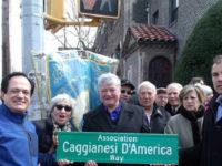 A Brooklyn intitolata una strada in onore dell'Associazione Caggianesi d'America