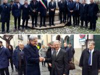 Una delegazione del Principato di Monaco in visita a Campagna per i 500 anni della Città