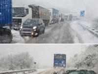 Neve e ghiaccio. Disagi sulla ex SS 19 ter e sulla Isca-Pantanelle tra Caggiano e la Basilicata