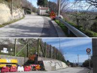 Messo in sicurezza il costone roccioso in località Tempa Sant'Antonio a San Rufo. Riaperta la strada