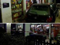 Sfonda con l'auto la vetrina di un bar in cui gli avevano negato da bere. Arrestato 40enne a Potenza