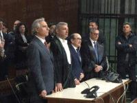 Il Procuratore Francesco Curcio, originario di Polla, s'insedia al Tribunale di Potenza