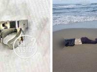 """Donna trovata morta sulla spiaggia a Capaccio. A """"Chi l'ha visto?"""" la foto degli orecchini che indossava"""