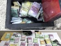 Trovata dai Carabinieri cassaforte sradicata da un muro contenente 340mila euro. Scatta il sequestro