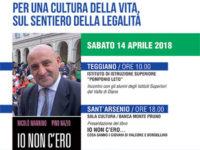 """Il 14 aprile l'incontro della Banca Monte Pruno con i giovani """"Sul sentiero della legalità"""""""