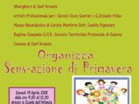 """Sant'Arsenio: domani l'evento """"Sens-azione di Primavera"""" dedicato agli studenti"""