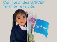 Il 21 e 22 aprile l'orchidea UNICEF a favore dei bambini nelle piazze del Vallo di Diano