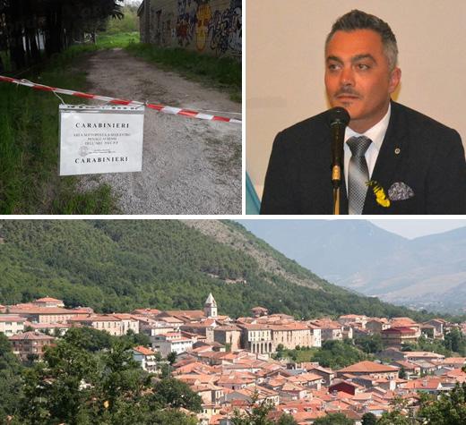 """Omicidio Pascuzzo. Il sindaco Guercio:""""Come una fenice Buonabitacolo risorgerà dalle sue ceneri"""""""