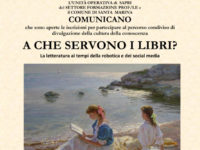 """Santa Marina: aperte le iscrizioni al percorso """"A che servono i libri?"""" per valorizzare la cultura"""