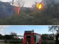 Incendio a San Giovanni a Piro. Località Ceraseto completamente distrutta dalle fiamme