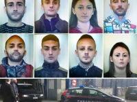 Furti e rapine nel Salernitano. 8 arresti e 2 divieti di dimora ad Eboli