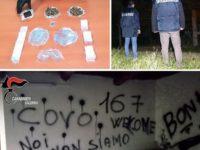 Allestiscono centrale per lo spaccio di droga in un casolare abbandonato. Arrestati due giovani a Padula