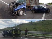 Incidente sull'A2 tra Sala Consilina e Atena Lucana. Sbanda con l'auto, ferito 19enne di Buonabitacolo