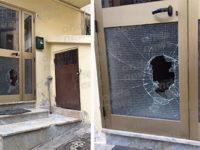 Atto vandalico a Vietri di Potenza. Distrutta nella notte la vetrata del portone di casa di 2 anziani