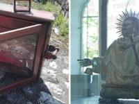 Auletta:durante il picnic di Pasquetta ritrovano la teca vuota che conteneva l'oro di San Donato rubato