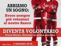 Al via il 3 giugno nel Vallo di Diano il corso per la formazione di Volontari della Croce Rossa Italiana