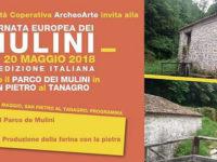 Giornata Europea dei Mulini. Al Parco di San Pietro al Tanagro visite guidate e laboratori