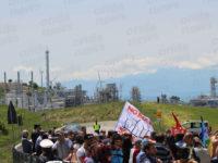 Petrolio, associazioni unite contro Tempa Rossa. Tantissimi alla manifestazione di Corleto Perticara