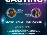 Padula: domani il casting per giovani talenti per accedere al Meeting Internazionale dello Spettacolo