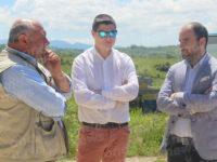 Il Consigliere Regionale Vincenzo Robortella a Vietri di Potenza per visitare le aziende agricole
