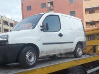Ritrovato a Battipaglia il furgone rubato in un'officina meccanica di Palomonte