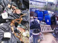 Blitz dei Carabinieri Forestali nella Zona Industriale di Buccino. Sequestrati rifiuti pericolosi