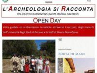 """""""L'archeologia si racconta"""". Domani open day nel sito archeologico di Policastro Bussentino"""