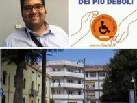 """Ospedale Polla.Il coordinatore provinciale del Movimento disabili:""""Si incrementi l'assistenza del Curto"""""""
