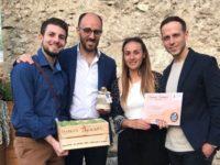 """Riconoscimento ad Auletta per l'Associazione Monte Pruno Giovani con il V Premio """"Carciofo Bianco"""""""