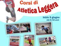 Al via il 5 giugno i nuovi corsi di atletica leggera organizzati dalla Metasport di San Rufo