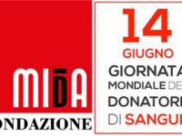 """Il 14 giugno la Fondazione MIdA celebra la """"Giornata Mondiale del donatore di sangue"""""""