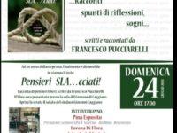 """Caggiano: domani la presentazione del libro """"Pensieri SLA…cciati"""" di Francesco Pucciarelli"""