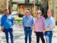 """Il Direttore del Parco Archeologico di Paestum Zuchtriegel visita Roscigno Vecchia, la """"Pompei del '900"""""""