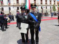 Festa della Repubblica.A Potenza onorificenza per Vito Macchia, Carabiniere Forestale in servizio a Tito