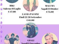 VIAGGI SPERANZA: concerto Pausini, Maluma, The Giornalisti, Ghali, Baglioni, Cremonini, Negramaro, Emma