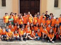 """Il campo scuola estivo dell'associazione """"Vola Sassano"""" coinvolge numerosi giovani studenti"""