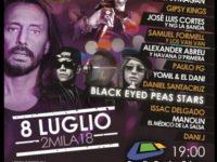 Bob Sinclair e i Black Eyed Peas agli European Latin Awards sponsorizzati da Cardinale Group di Teggiano