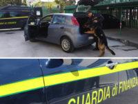 Scoperti con la droga in auto lungo il raccordo Sicignano-Potenza. Arrestati 3 giovani del Salernitano