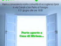 """San Pietro al Tanagro: il 21 giugno l'evento """"Porte aperte a casa di Miriam"""""""