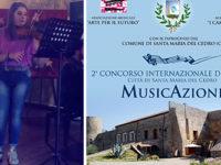"""Ludovica Del Bagno, giovane violinista di Polla, vince il II Concorso Internazionale """"MusicAzioni"""""""