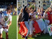 Calcio.Angelica Parascandolo, originaria di Buonabitacolo, diventa campionessa d'Italia con il Pink Bari