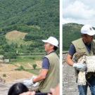 """Liberato a Marsico Nuovo un esemplare di """"Aquila dei Serpenti"""" ferito dopo un impatto con un'auto"""