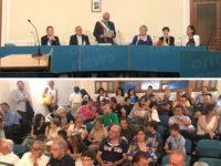 Polla: Rocco Giuliano giura da Sindaco nel primo Consiglio comunale